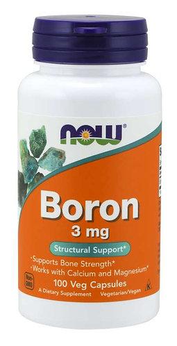 Boron 3 mg Veg Capsules, 100 ct
