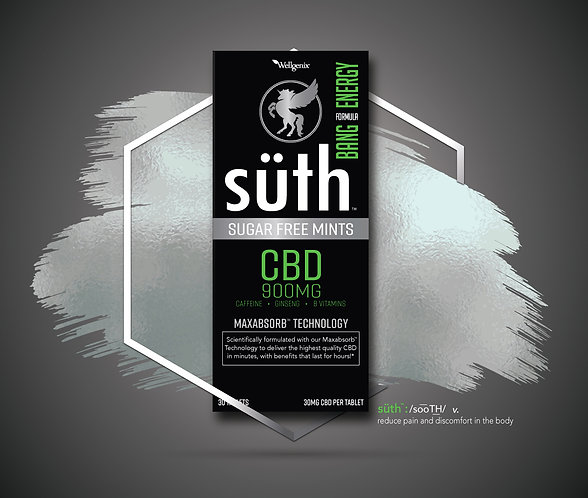 SüTH CBD ENERGY MINTS 900MG