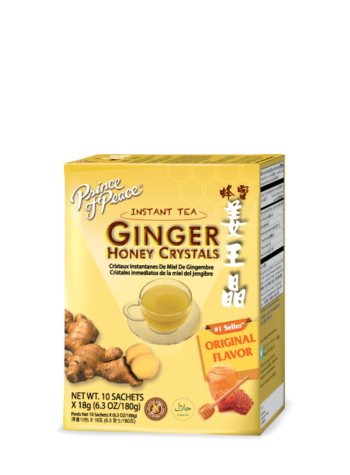 Prince of Peace Ginger Honey Crystals, 10 pack