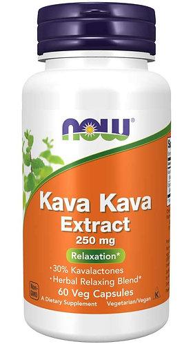Kava Kava Extract 250 mg Veg Capsules