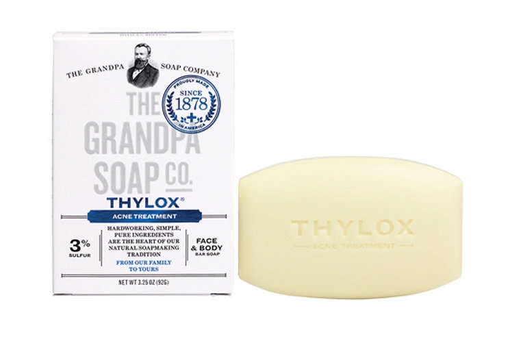 Grandpa's Thylox Acne Treatment Soap with Sulfur 3.25oz