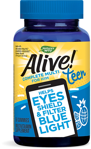 Alive!® Teen Gummy Multivitamin for Him