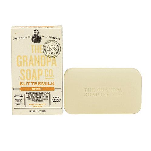 Grandpa's Soap Buttermilk 4.25oz