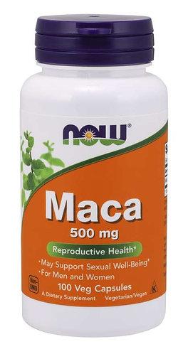 Maca 500 mg Veg Capsules