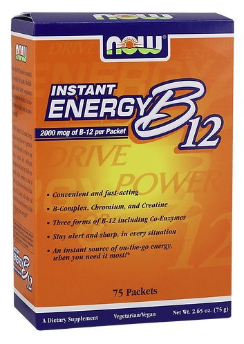 Instant Energy B-12 Packets- 2,000 mcg
