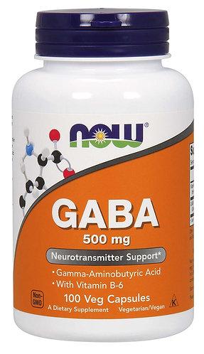GABA 500 mg Veg Capsules