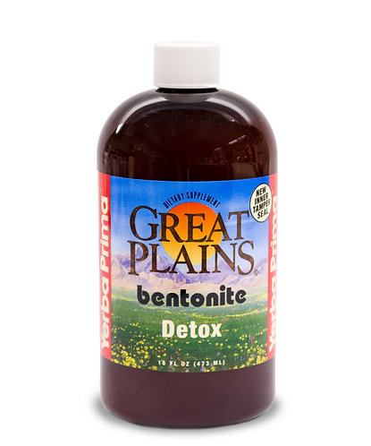 Great Plains Bentonite Detox, Pint