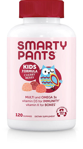 SmartyPants Kids Complete Cherry Berry 120ct