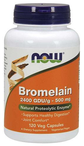 Bromelain 500 mg Veg Capsules-120 ct