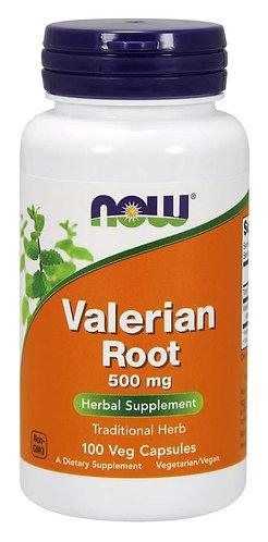 Valerian Root 500 mg Veg Capsules