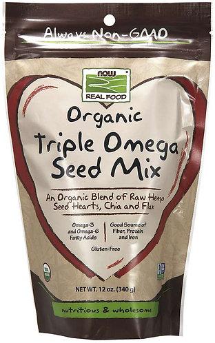 Triple Omega Seed Mix, Organic