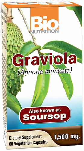 Graviola/ Soursop Veg Capsules, 60 ct