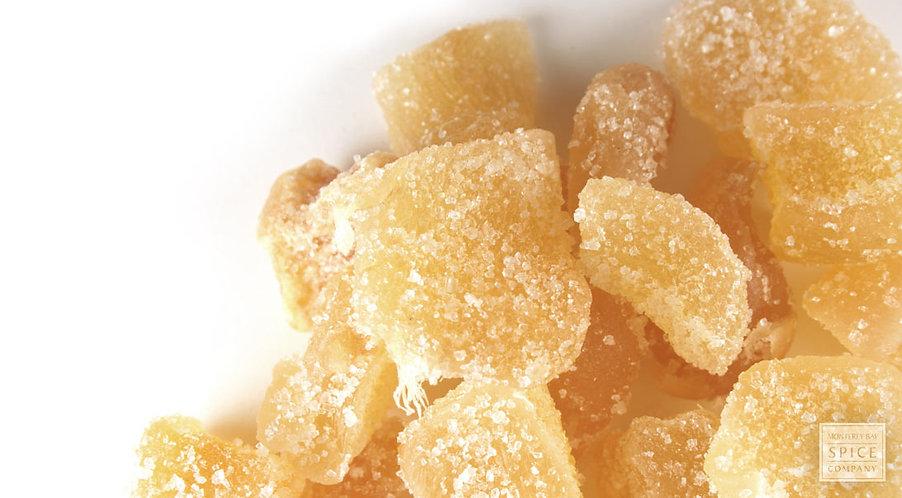 Crystalized Ginger, 1/4lb