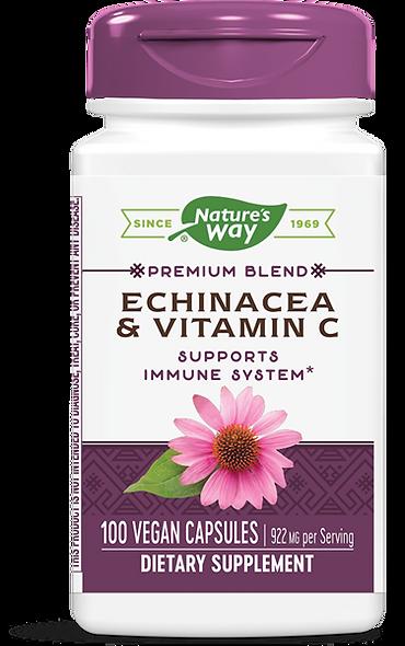 Echinacea & Vitamin C / 100 Caps