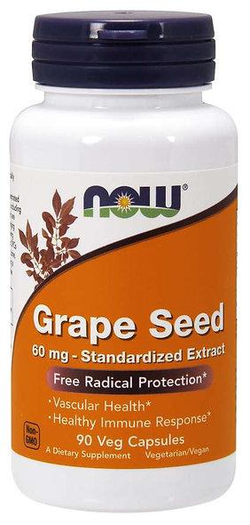 Grape Seed 60 mg Veg Capsules