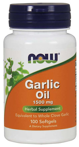 Garlic Oil 1500 mg Softgels