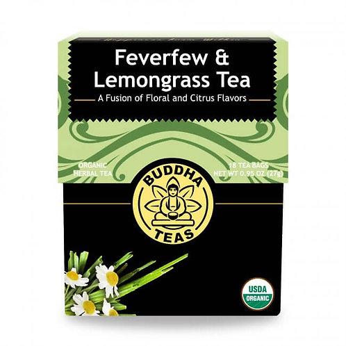Organic Feverfew Lemongrass Tea