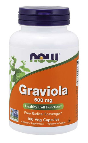 Graviola 500 mg Veg Capsules