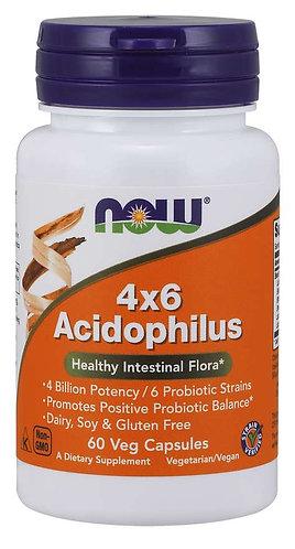 Acidophilus 4x6 Veg Capsules