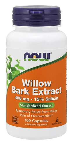 Willow Bark Extract 400 mg Capsules
