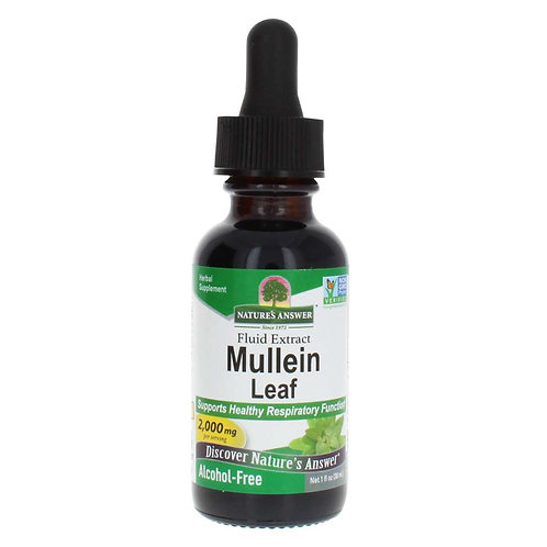 Mullein Leaf Extract Alcohol Free 1 Oz