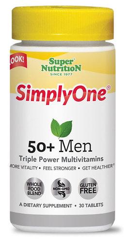 SIMPLYONE 50 + MEN 30TABS
