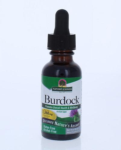 Burdock Root Alcohol Free 1oz.
