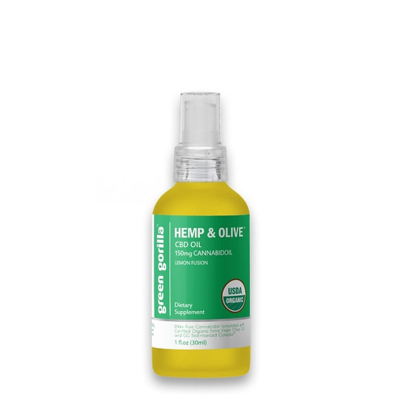 Pure CBD Oil 150 mg (Lemon Flavor)