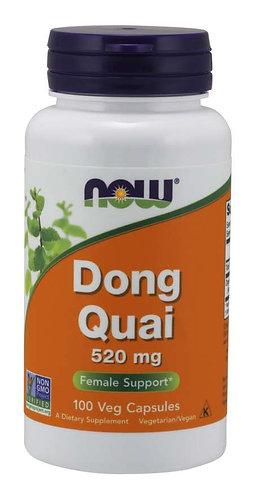 Dong Quai 520 mg Veg Capsules