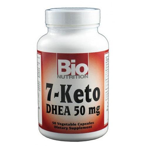 Bio Nutrition 7-Keto DHEA 50mg 50vc