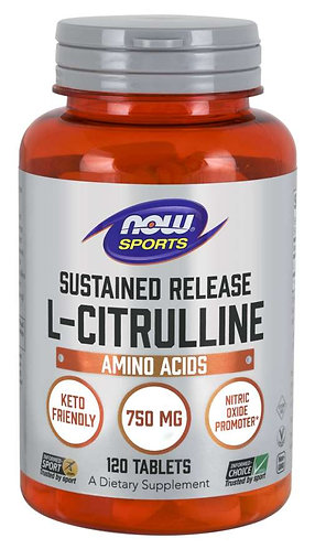 L-Citrulline 750 mg Sustained Release Tablets
