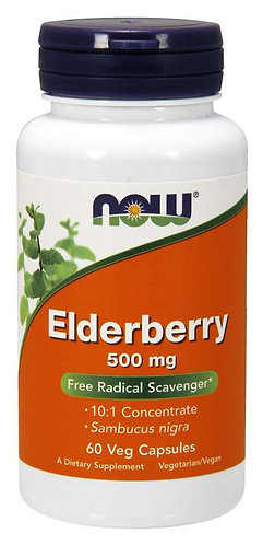 Elderberry 500 mg Veg Capsules
