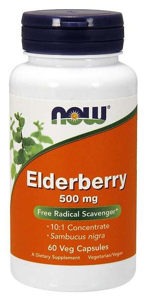 Elderberry 500 mg Veg Capsules