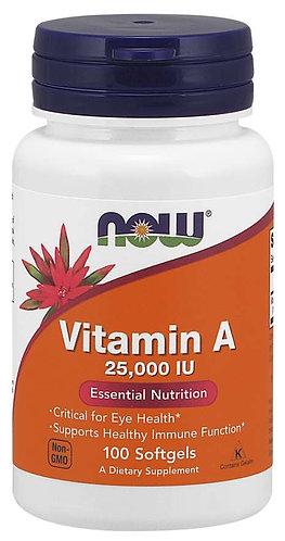Vitamin A 25,000 IU Softgels