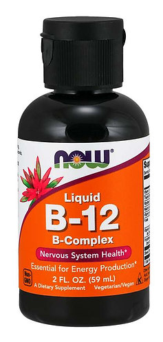 Vitamin B-12 complex Liquid, 2oz.