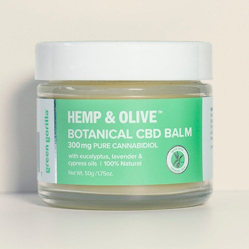 Green Gorilla CBD Balm 300mg Botanical 1.75oz