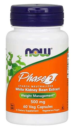 Phase 2® 500 mg Veg Capsules- 60 ct