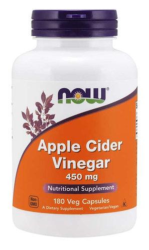 Apple Cider Vinegar 450 mg Veg Capsules