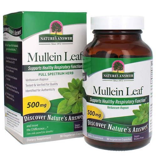 Mullein Leaf 90 Veggie Capsules