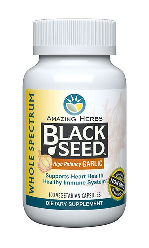 Amazing Herbs Black Seed Garlic