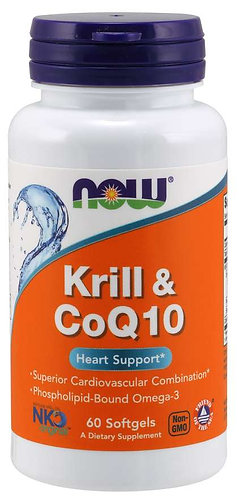 Krill & CoQ10 Softgels
