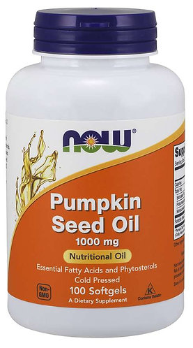 Pumpkin Seed Oil 1000 mg Softgels