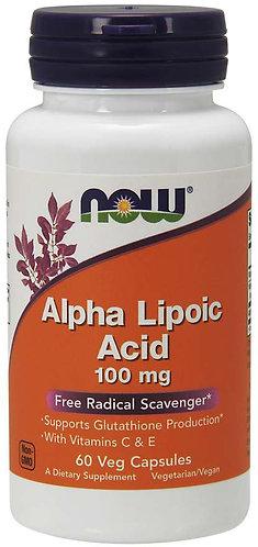 Alpha Lipoic Acid 100 mg Veg Capsules