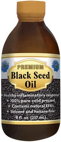 Bio Nutrition Premium Black Seed Oil 8oz