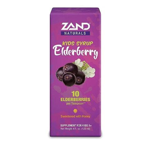 ZAND® Kids Elderberry Syrup 4oz