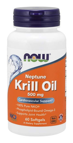 Neptune Krill Oil 500 mg Softgels