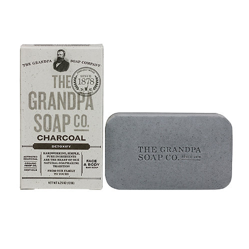 Grandpa's Soap Charcoal 4.25oz