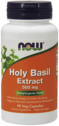 Holy Basil Extract 500 mg Veg Capsules