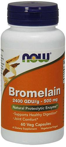 Bromelain 500 mg Veg Capsules, 60ct