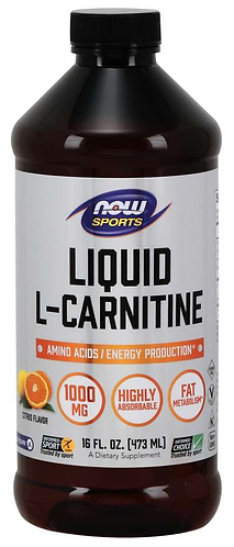 L-Carnitine Liquid 1000 mg, Citrus